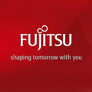 Logo of fujitsu