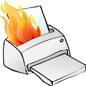 damage printer