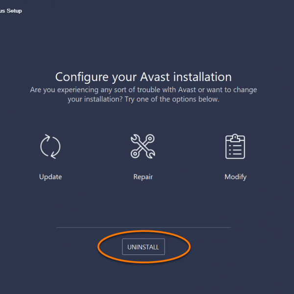 how_to_uninstall_Avast_antivirus_configure_Avast_installation